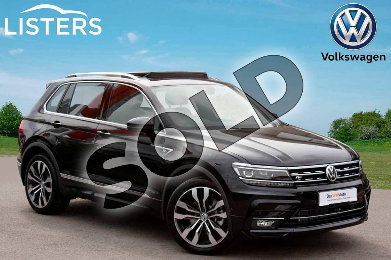 Volkswagen Tiguan Diesel 2 0 Tdi 190 4motion R Line Tech 5dr Dsg For Sale At Listers Volkswagen