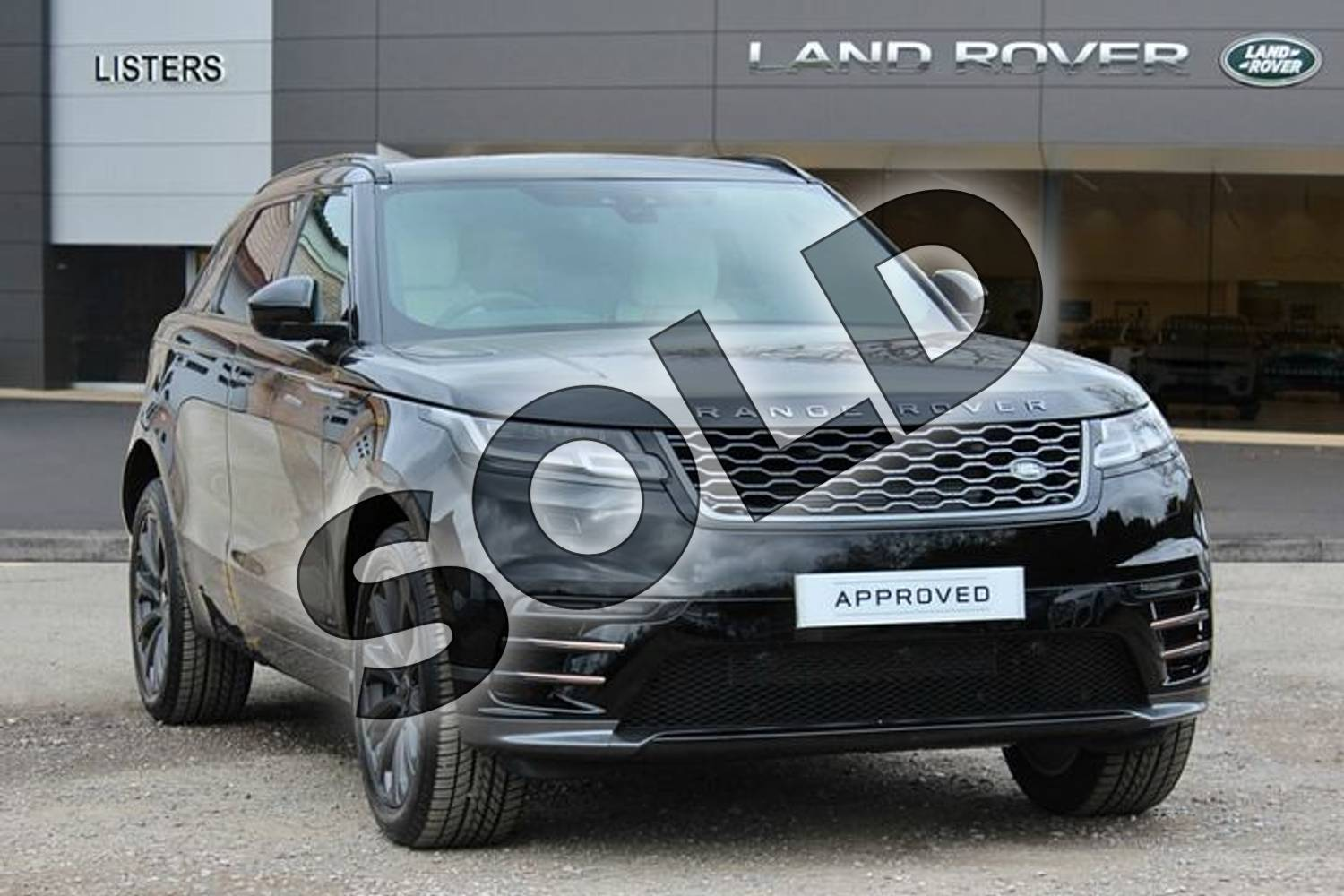 2019 Range Rover Velar Diesel Estate Diesel 2.0 D180 R-Dynamic S 5dr Auto in Narvik Black at Listers Land Rover Solihull