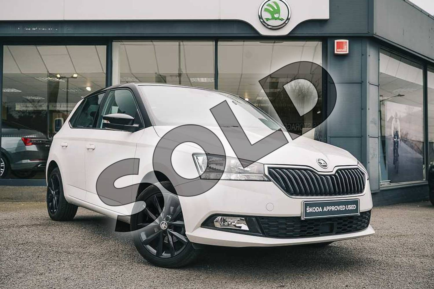 2019 Skoda Fabia Hatchback Special Editions Special Editions 1.0 TSI Colour Edition 5dr in Candy White at Listers ŠKODA Coventry