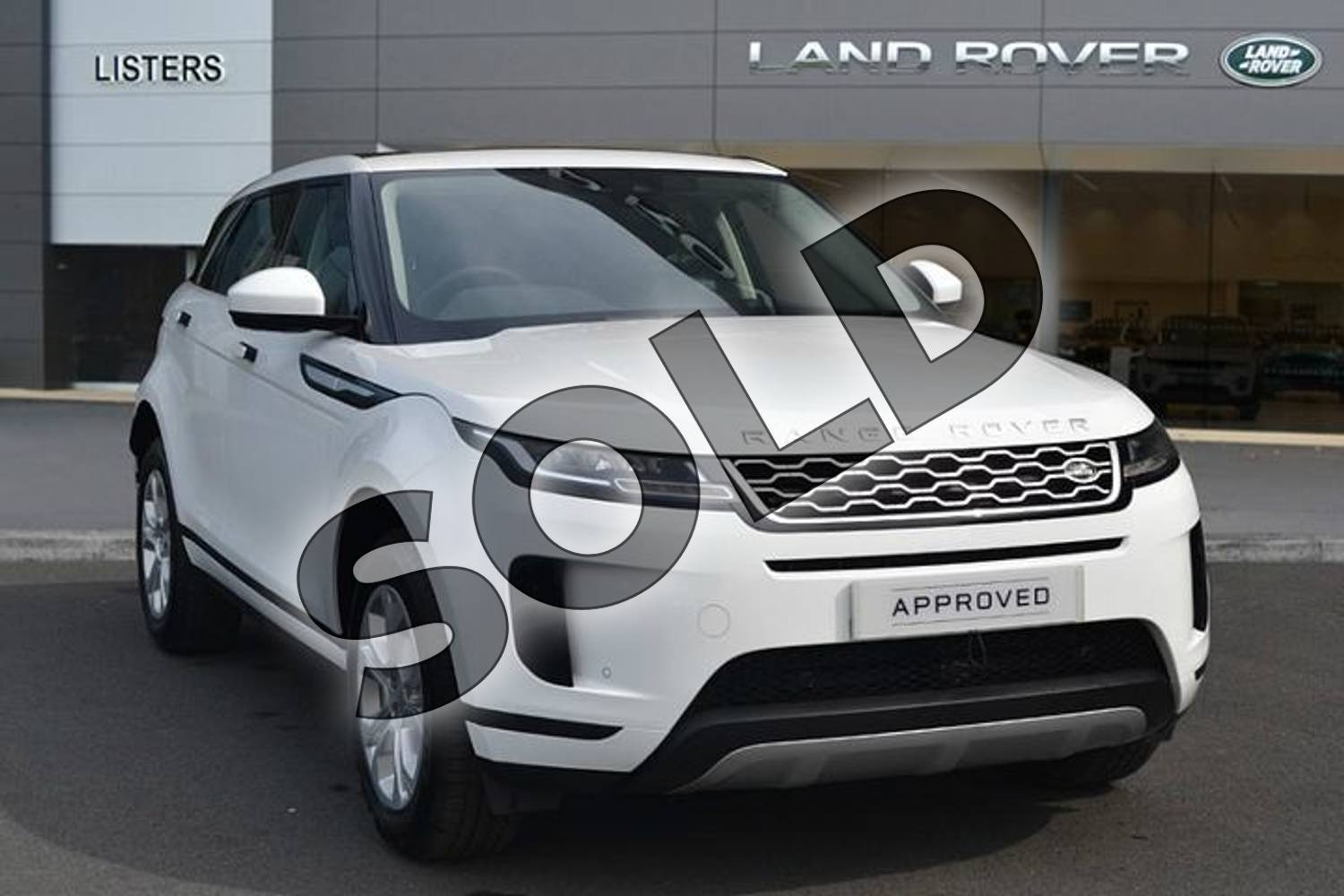 2019 Range Rover Evoque Diesel Hatchback Diesel 2.0 D180 S 5dr Auto in Fuji White at Listers Land Rover Hereford