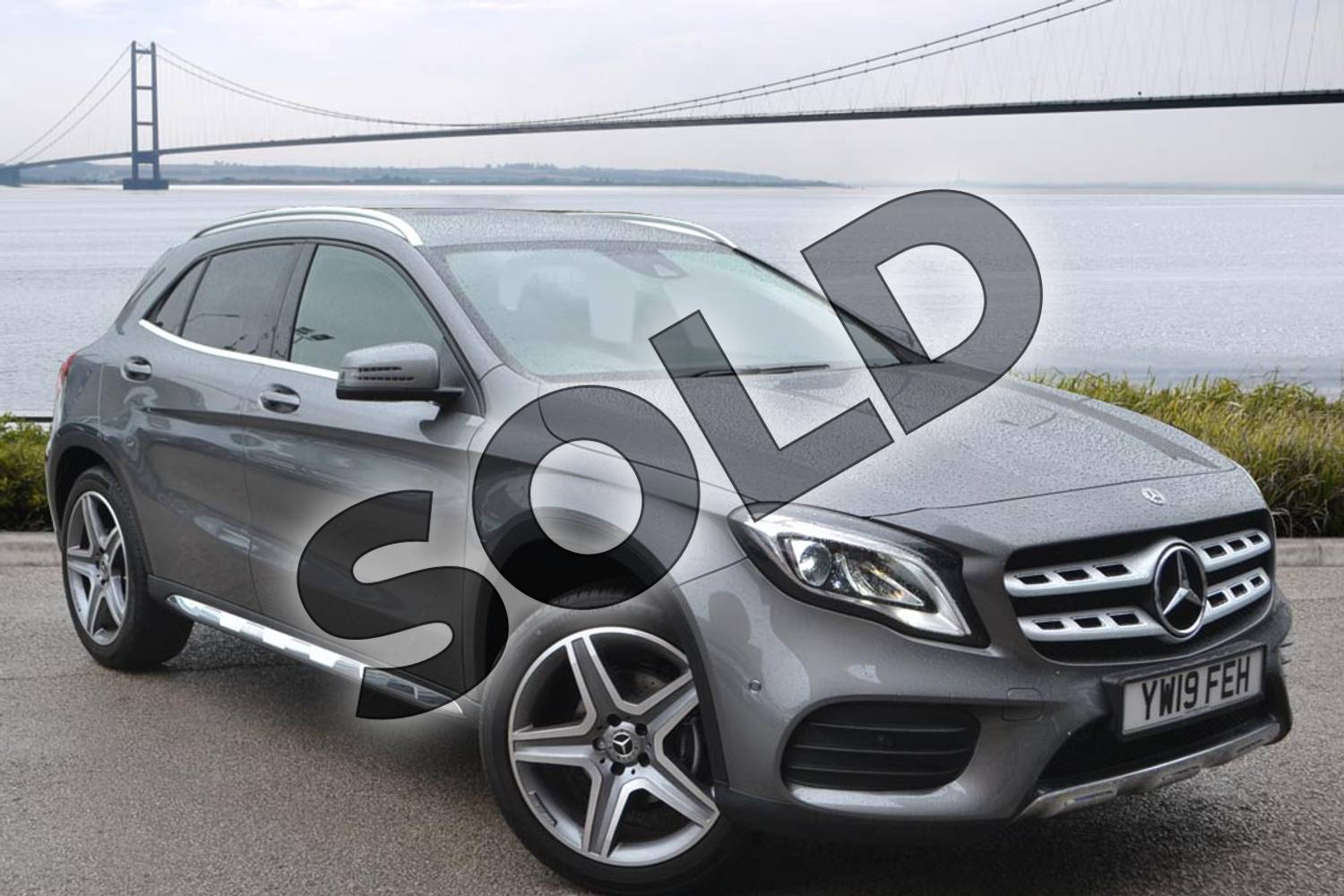 2019 Mercedes-Benz GLA Class Diesel Hatchback Diesel GLA 200d 4Matic AMG Line Premium 5dr Auto in Mountain Grey Metallic at Mercedes-Benz of Hull