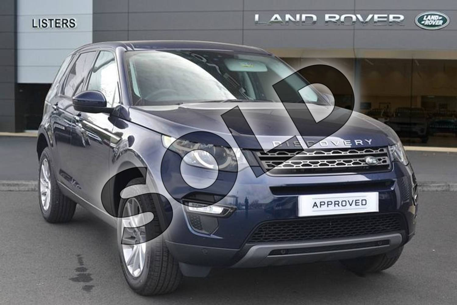 2019 Land Rover Discovery Sport Diesel SW 2.0 TD4 180 SE Tech 5dr Auto in Loire Blue at Listers Land Rover Hereford