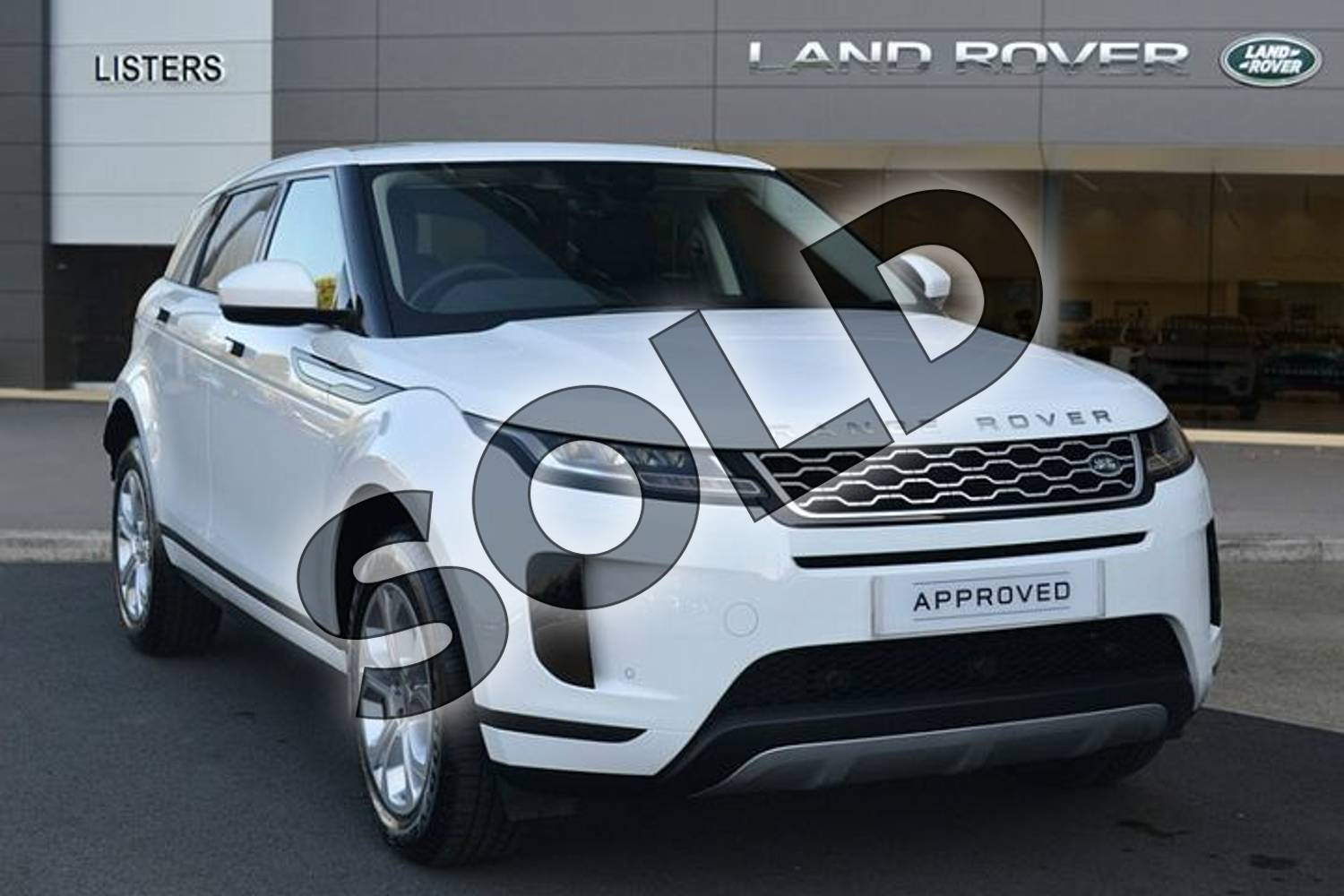2019 Range Rover Evoque Diesel Hatchback 2.0 D180 S 5dr Auto in Fuji White at Listers Land Rover Hereford