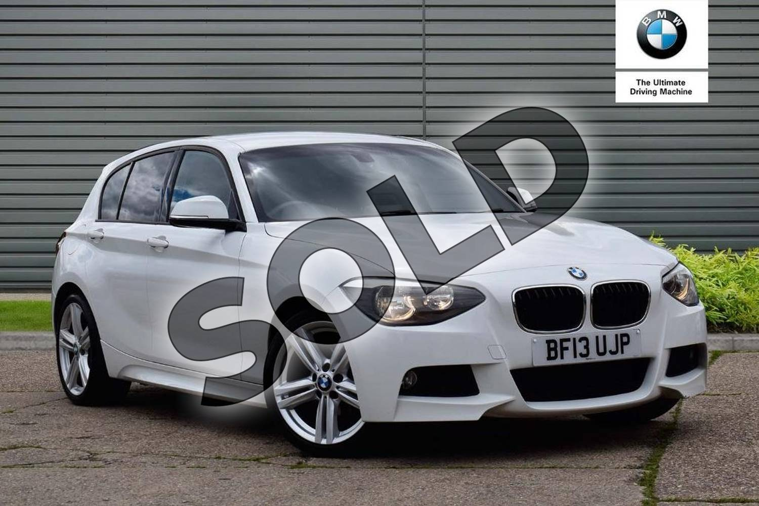 2013 BMW 1 Series Hatchback 116i M Sport 5dr in Alpine White at Listers Boston (BMW)