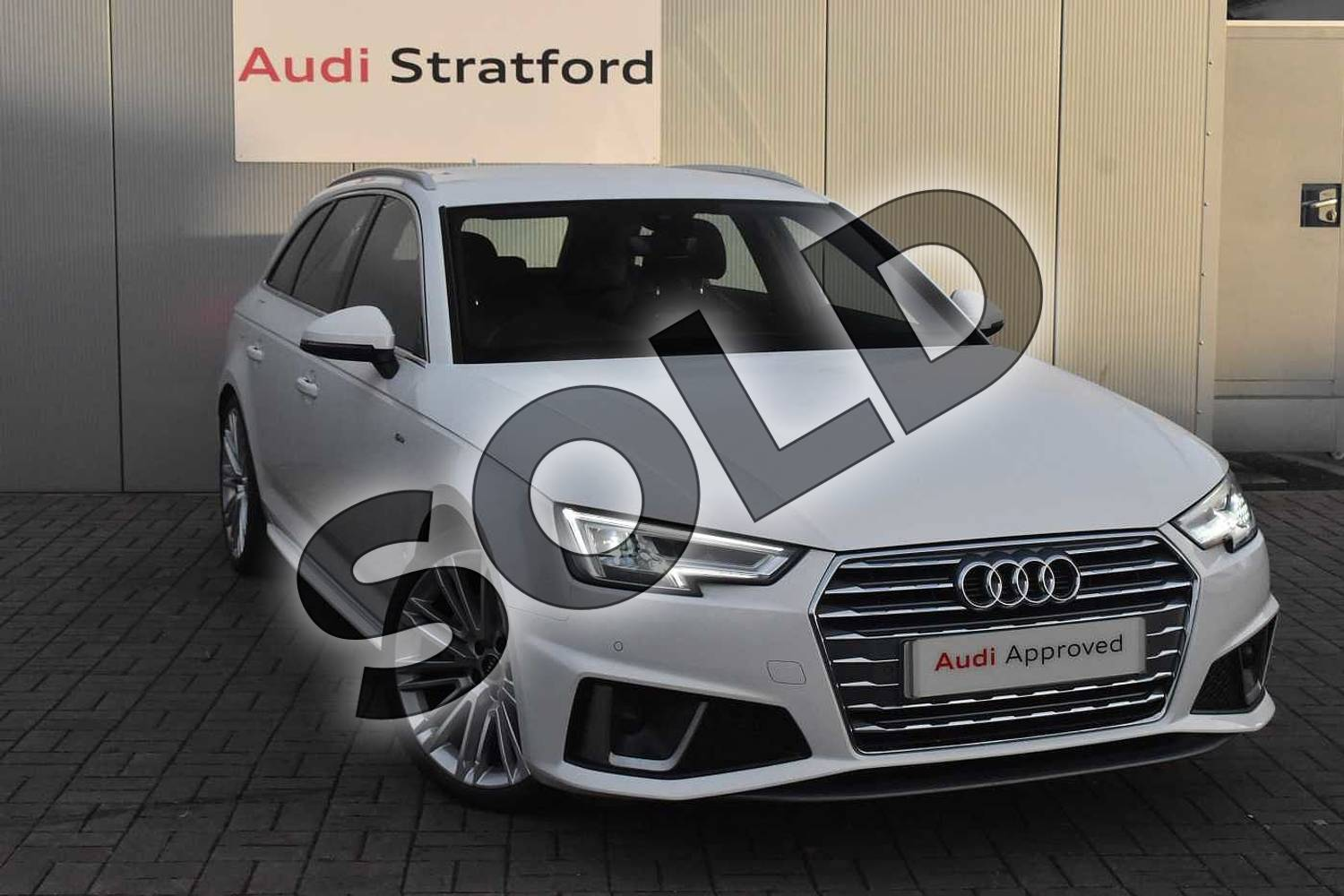 Audi A4 Diesel 40 Tdi Quattro S Line 5dr S Tronic For Sale At