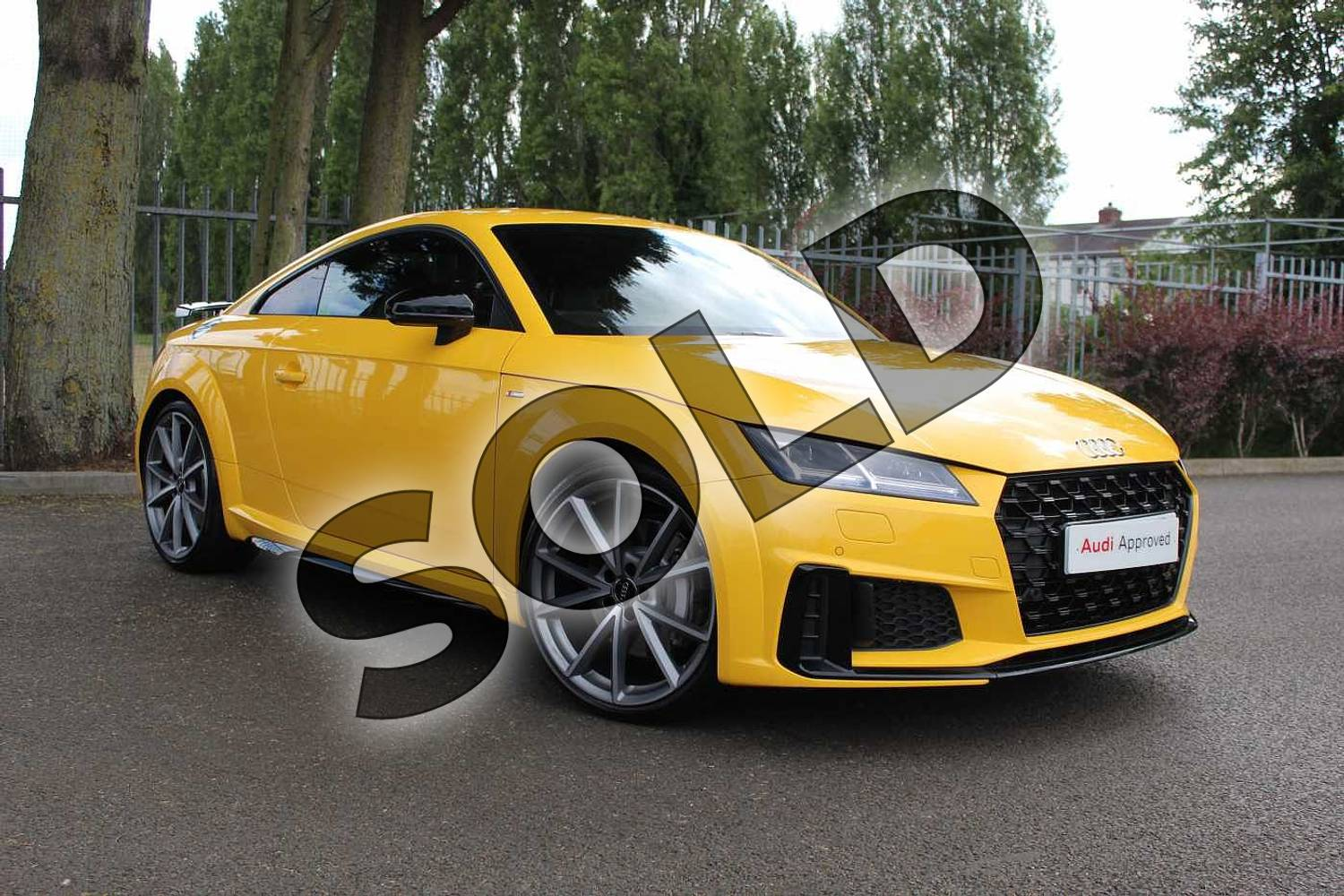 2019 Audi TT Coupe 45 TFSI Black Edition 2dr S Tronic in Vegas Yellow at Coventry Audi