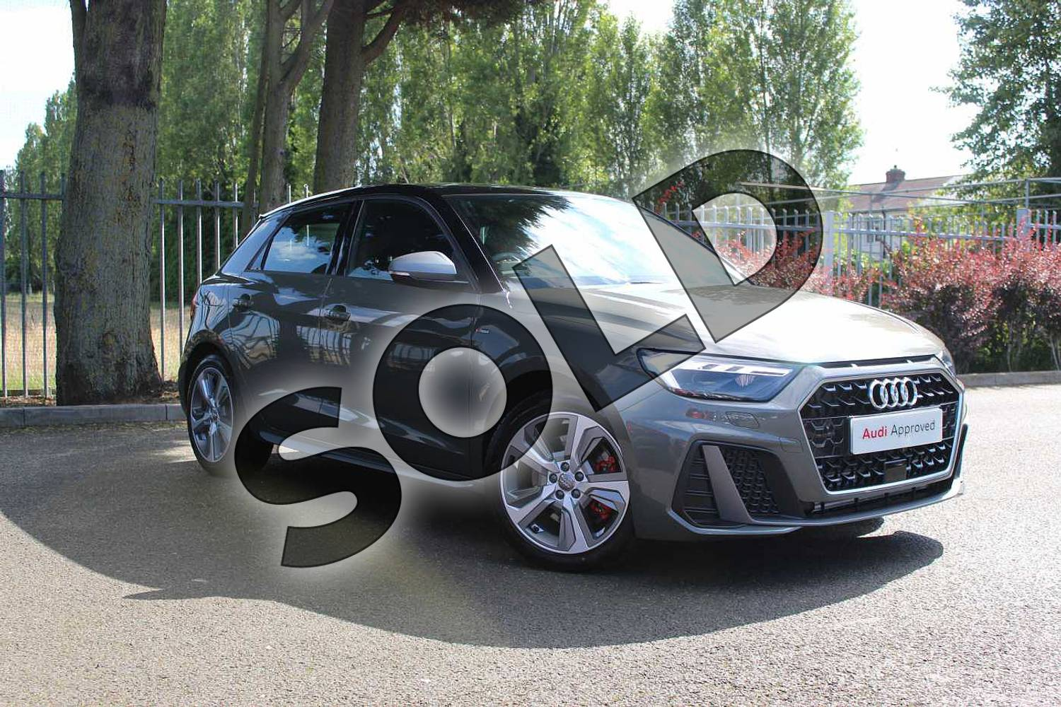 2019 Audi A1 Sportback 40 TFSI S Line Competition 5dr S Tronic in Chronos Grey Metallic at Coventry Audi