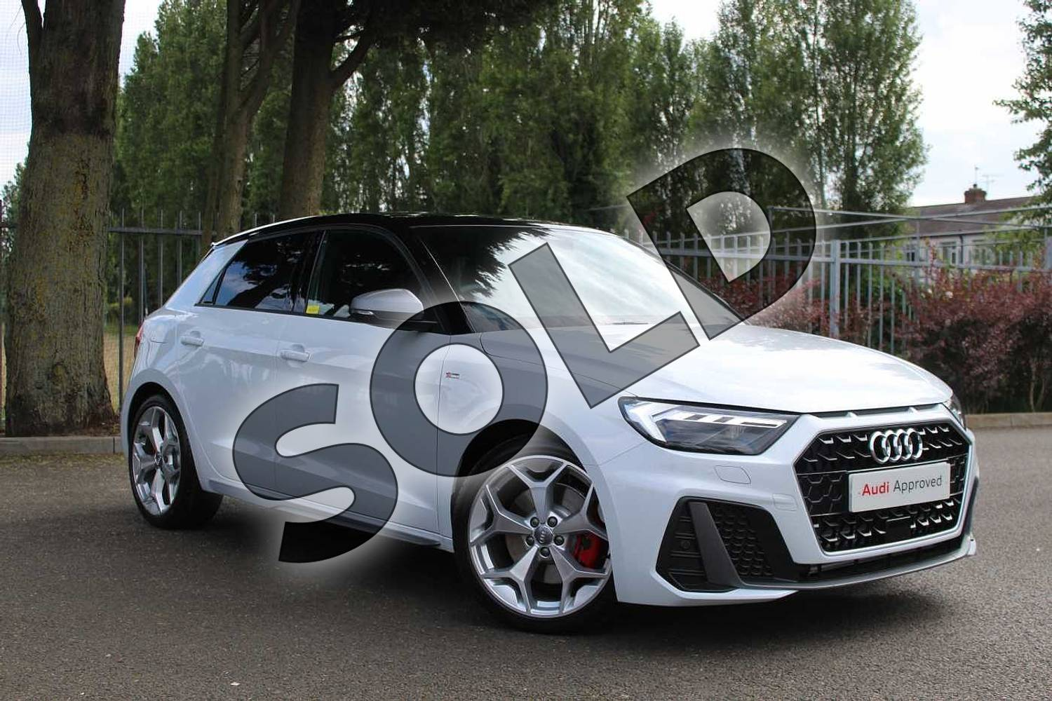 2019 Audi A1 Sportback 40 TFSI S Line Competition 5dr S Tronic in Glacier White Metallic at Coventry Audi