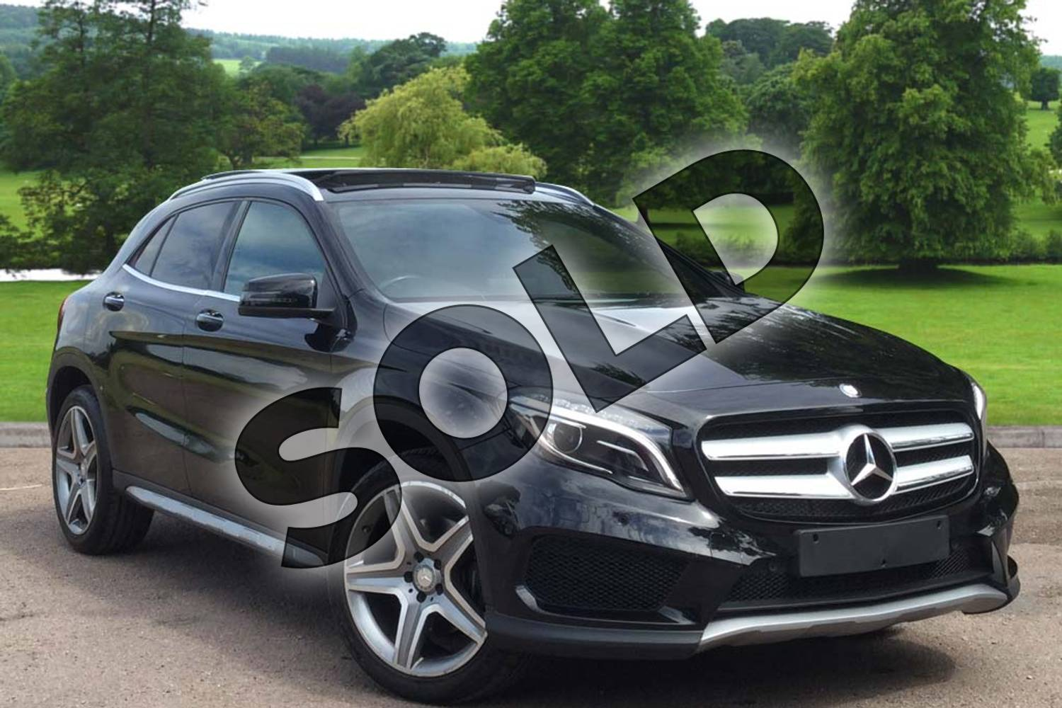 2016 Mercedes-Benz GLA Class Diesel Hatchback Diesel GLA 220d 4Matic AMG Line 5dr Auto in Cosmos Black Metallic at Mercedes-Benz of Grimsby