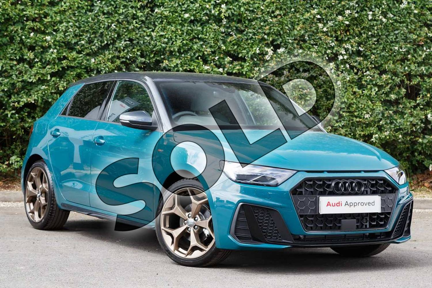 2019 Audi A1 Sportback Special Editions Special Editions 35 TFSI S Line Style Edition 5dr in Tioman Green at Worcester Audi