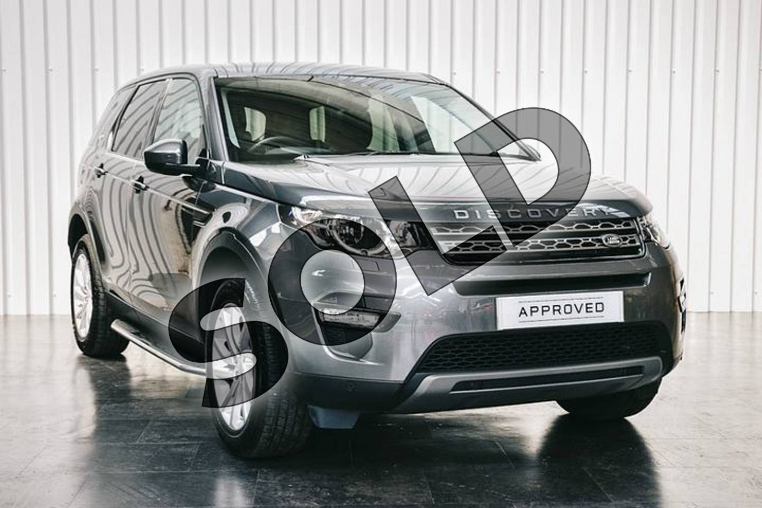 2019 Land Rover Discovery Sport Diesel SW Diesel SW 2.0 TD4 180 SE Tech 5dr Auto in Corris Grey at Listers Land Rover Solihull