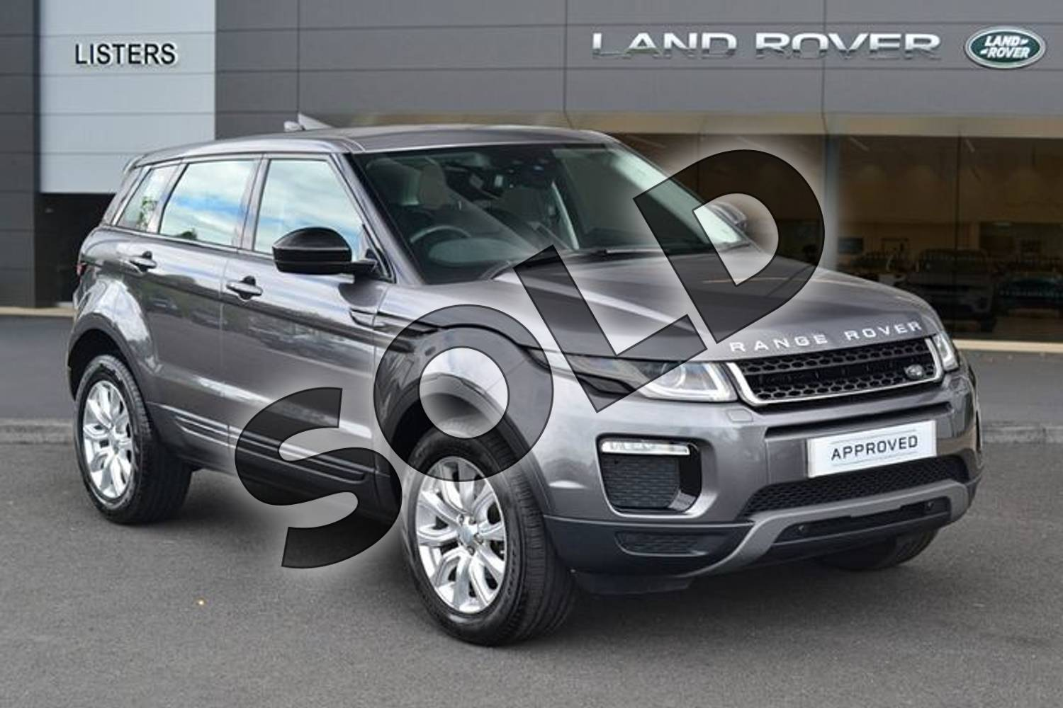 2017 Range Rover Evoque Diesel Hatchback Diesel 2.0 eD4 SE Tech 5dr 2WD in Corris Grey at Listers Land Rover Hereford