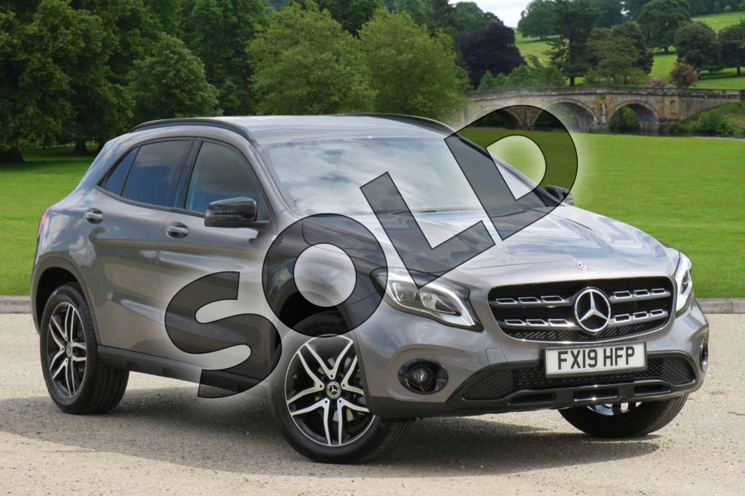 2019 Mercedes-Benz GLA Class Hatchback GLA 180 Urban Edition 5dr Auto in Mountain Grey Metallic at Mercedes-Benz of Boston