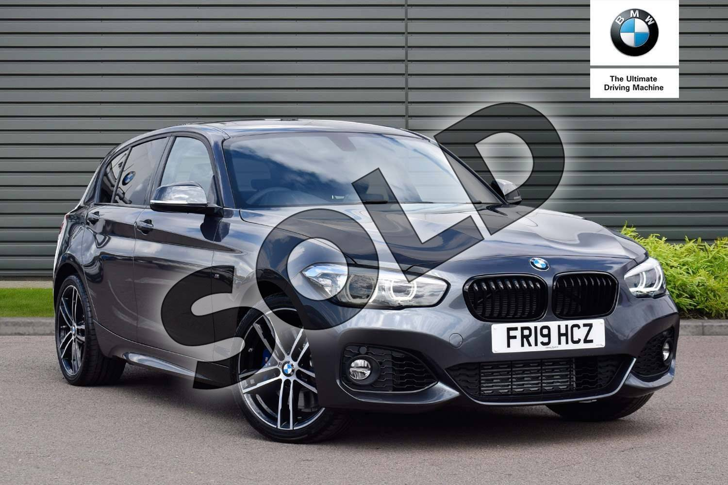 Bmw 1 Series Special Edition 118i 1 5 M Sport Shadow Edition 5dr