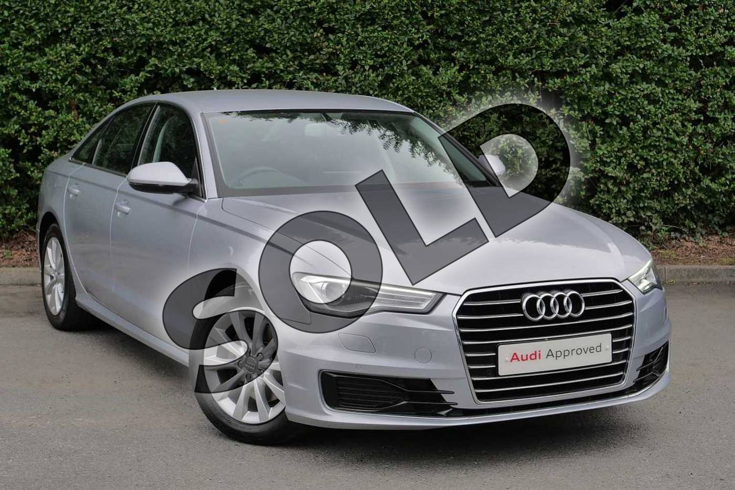2015 Audi A6 Diesel Saloon Diesel 2.0 TDI Ultra SE 4dr S Tronic in Floret Silver, metallic at Worcester Audi