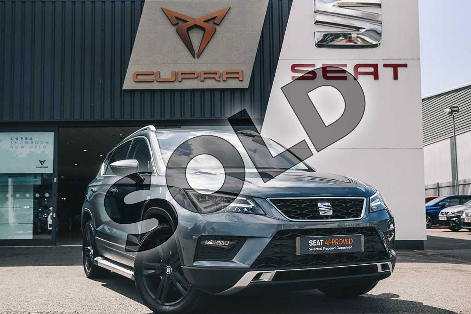 2018 SEAT Ateca Estate 1.0 TSI SE L (EZ) 5dr in Grey at Listers SEAT Coventry