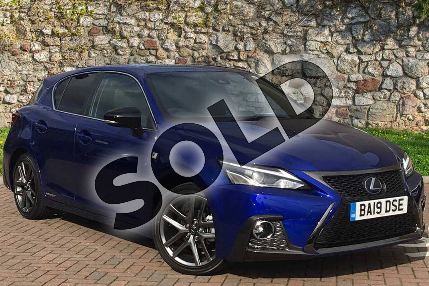 2019 Lexus CT Hatchback 200h 1.8 F-Sport 5dr CVT in Azure Blue at Lexus Coventry