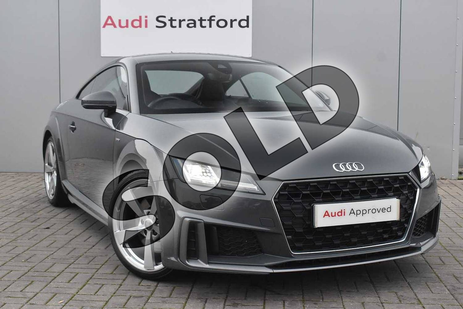 2019 Audi TT Coupe 45 TFSI S Line 2dr S Tronic in Nano Grey Metallic at Birmingham Audi