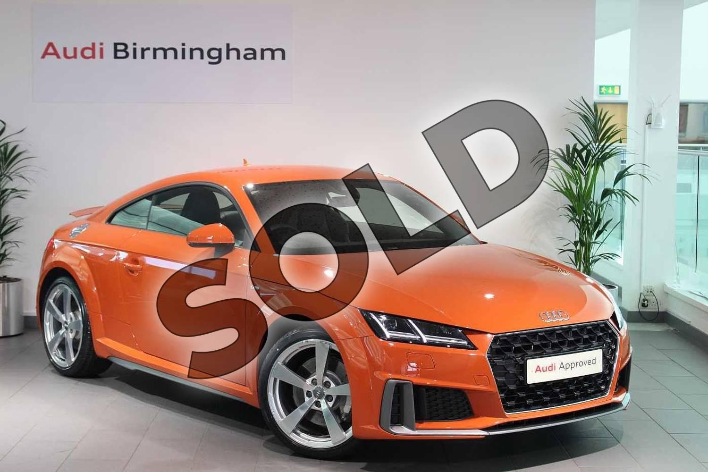 Audi Used Car Finance >> Audi TT 45 TFSI S Line 2dr S Tronic for sale at Birmingham ...