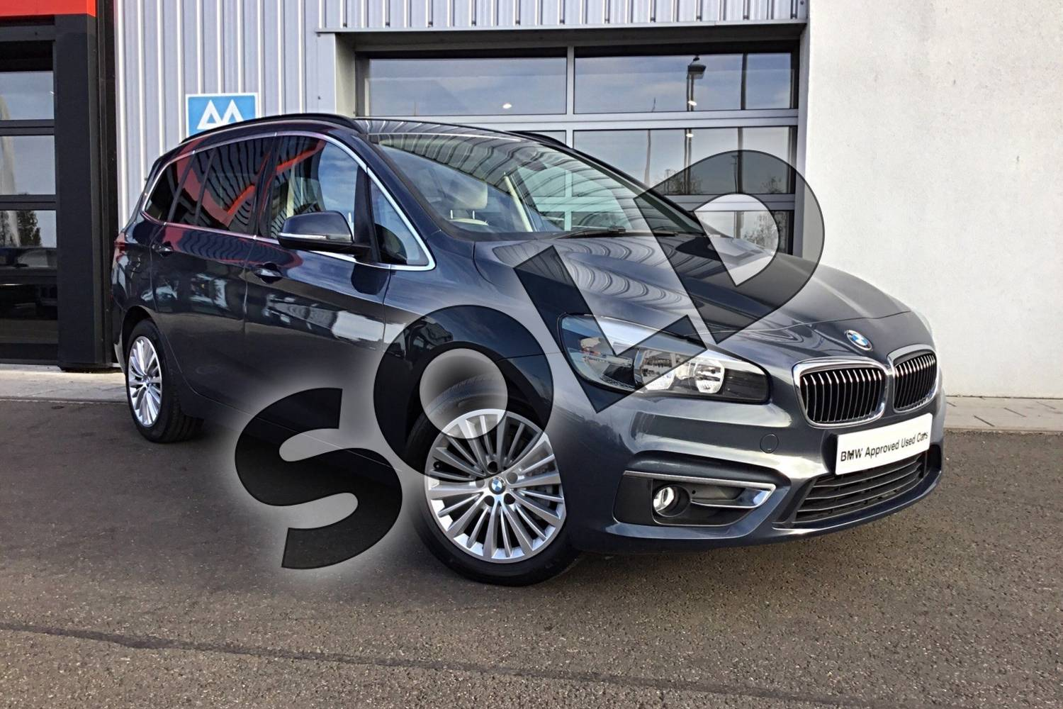 2015 BMW 2 Series Diesel Gran Tourer Diesel Gran Tourer 216d Luxury 5dr in Atlantic Grey at Listers King's Lynn (BMW)