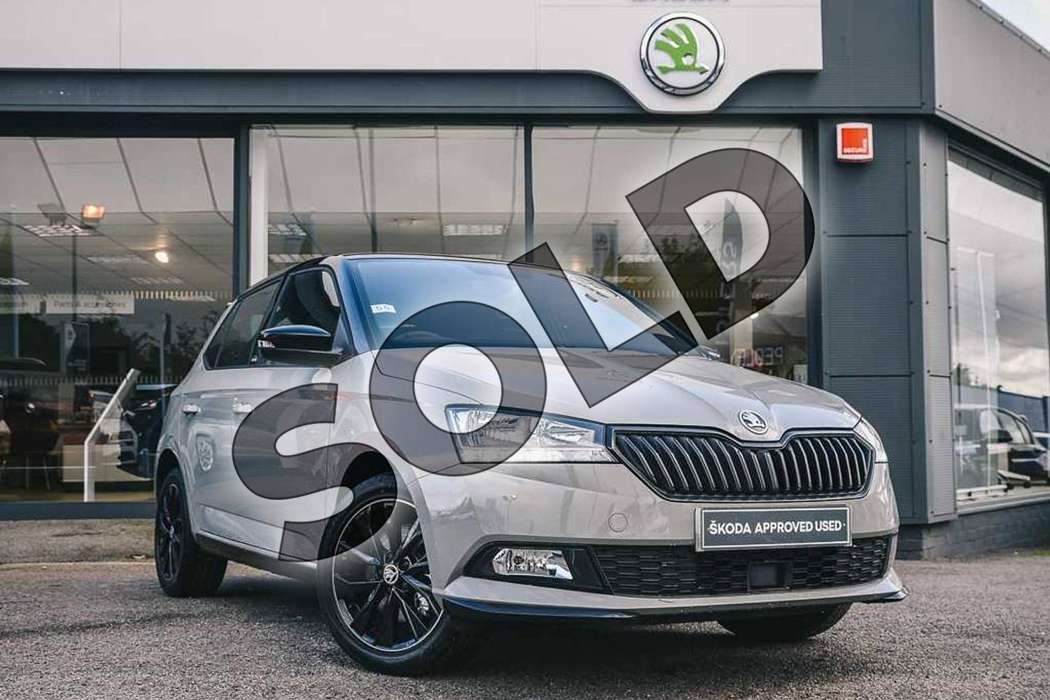 2019 Skoda Fabia Hatchback 1.0 TSI 110 Monte Carlo 5dr DSG in Meteor Grey at Listers ŠKODA Coventry