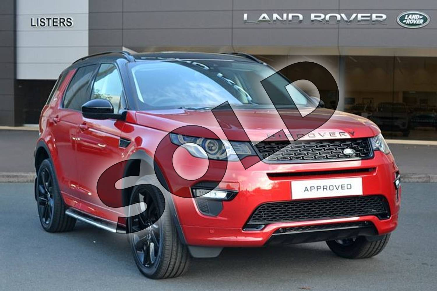 2019 Land Rover Discovery Sport Diesel SW 2.0 TD4 180 HSE Luxury 5dr Auto (5 Seat) in Firenze Red at Listers Land Rover Hereford