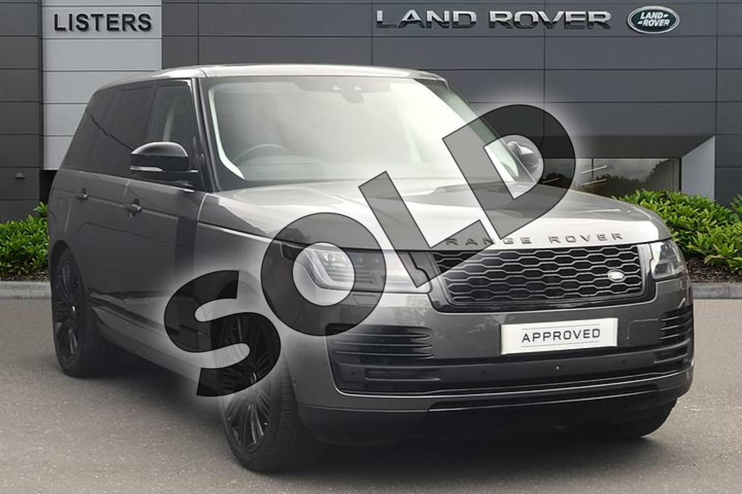 2018 Range Rover Diesel Estate Diesel 4.4 SDV8 Autobiography 4dr Auto in Corris Grey at Listers Land Rover Droitwich