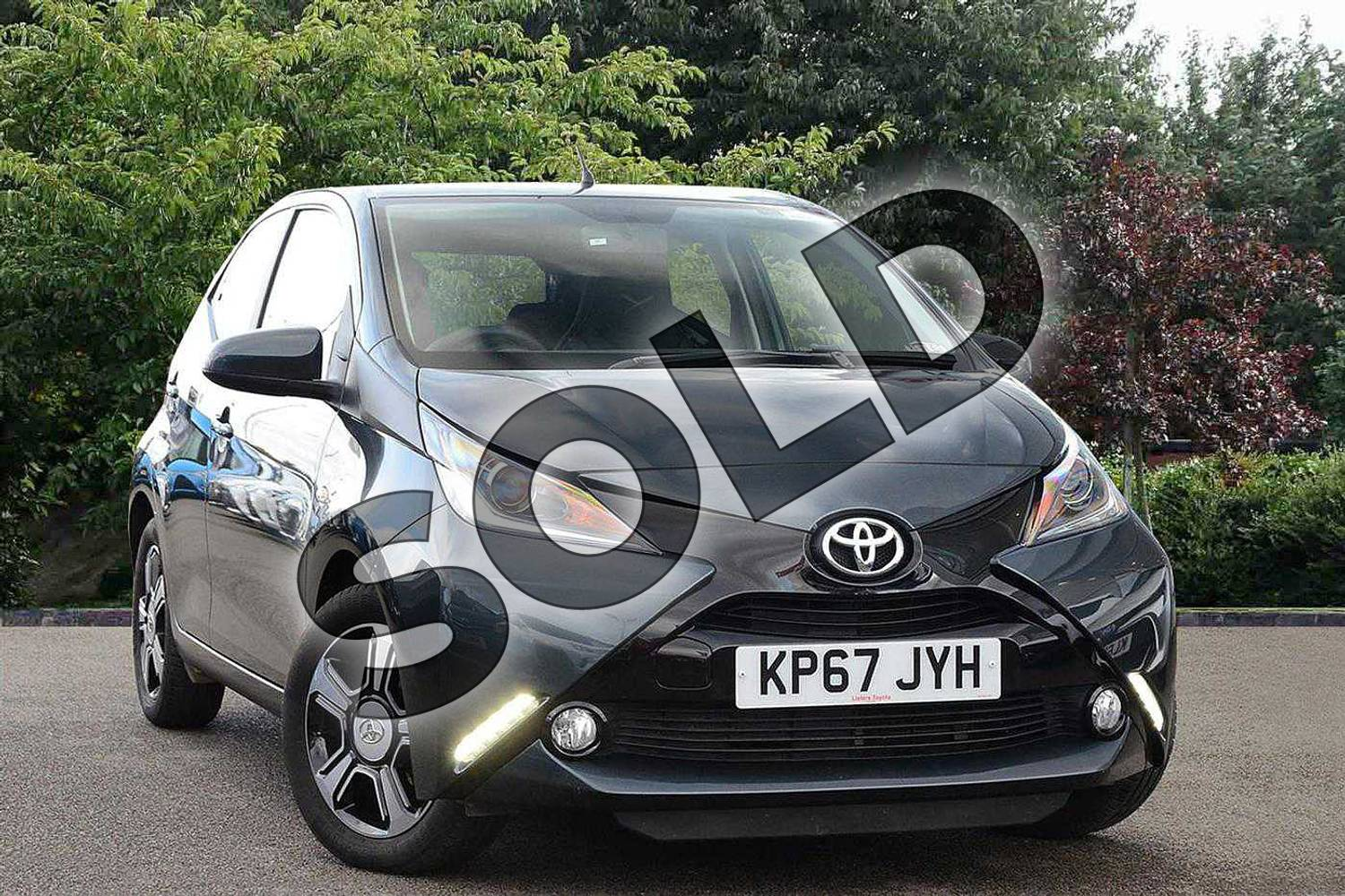 2017 Toyota AYGO Hatchback Special Editions Special Editions 1.0 VVT-i X-Clusiv 3 5dr in Grey at Listers Toyota Nuneaton