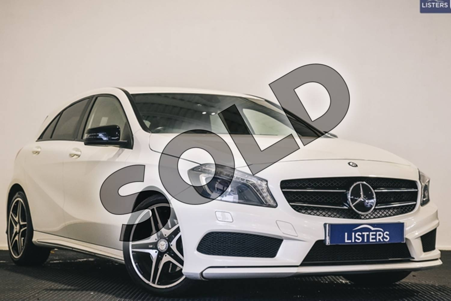 2014 Mercedes-Benz A Class Diesel Hatchback Diesel A220 CDI BlueEFFICIENCY AMG Sport 5dr Auto in Solid - Cirrus white at Listers U Stratford-upon-Avon