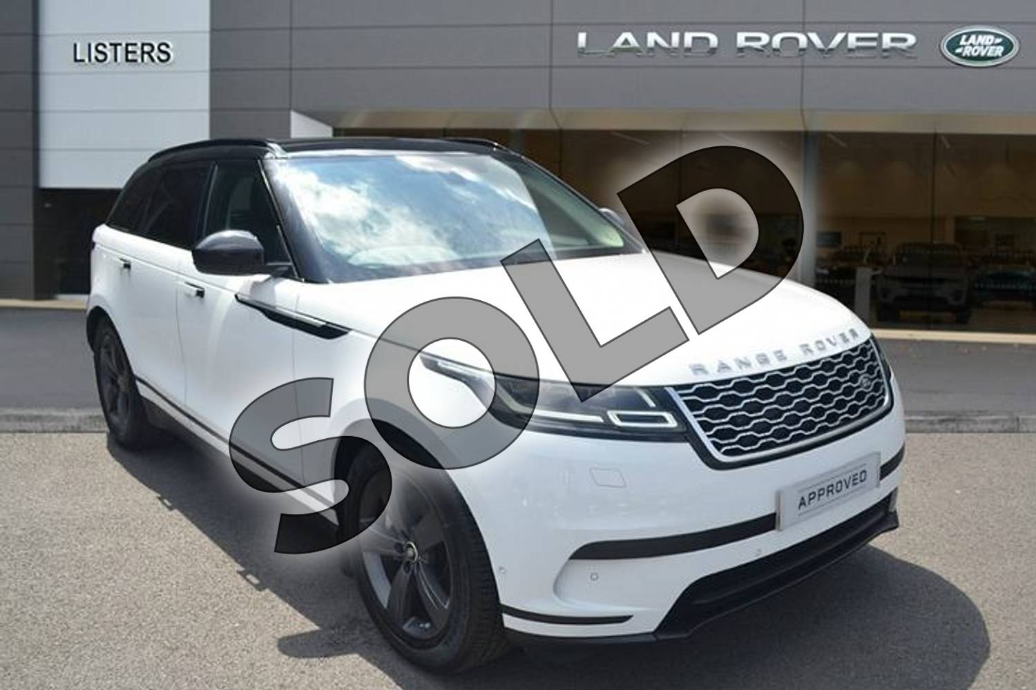 2019 Range Rover Velar Diesel Estate 3.0 D275 SE 5dr Auto in Fuji White at Listers Land Rover Hereford