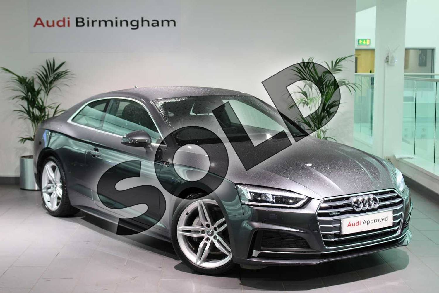 Audi A5 40 TDI Quattro S Line 2dr S Tronic for sale at ...