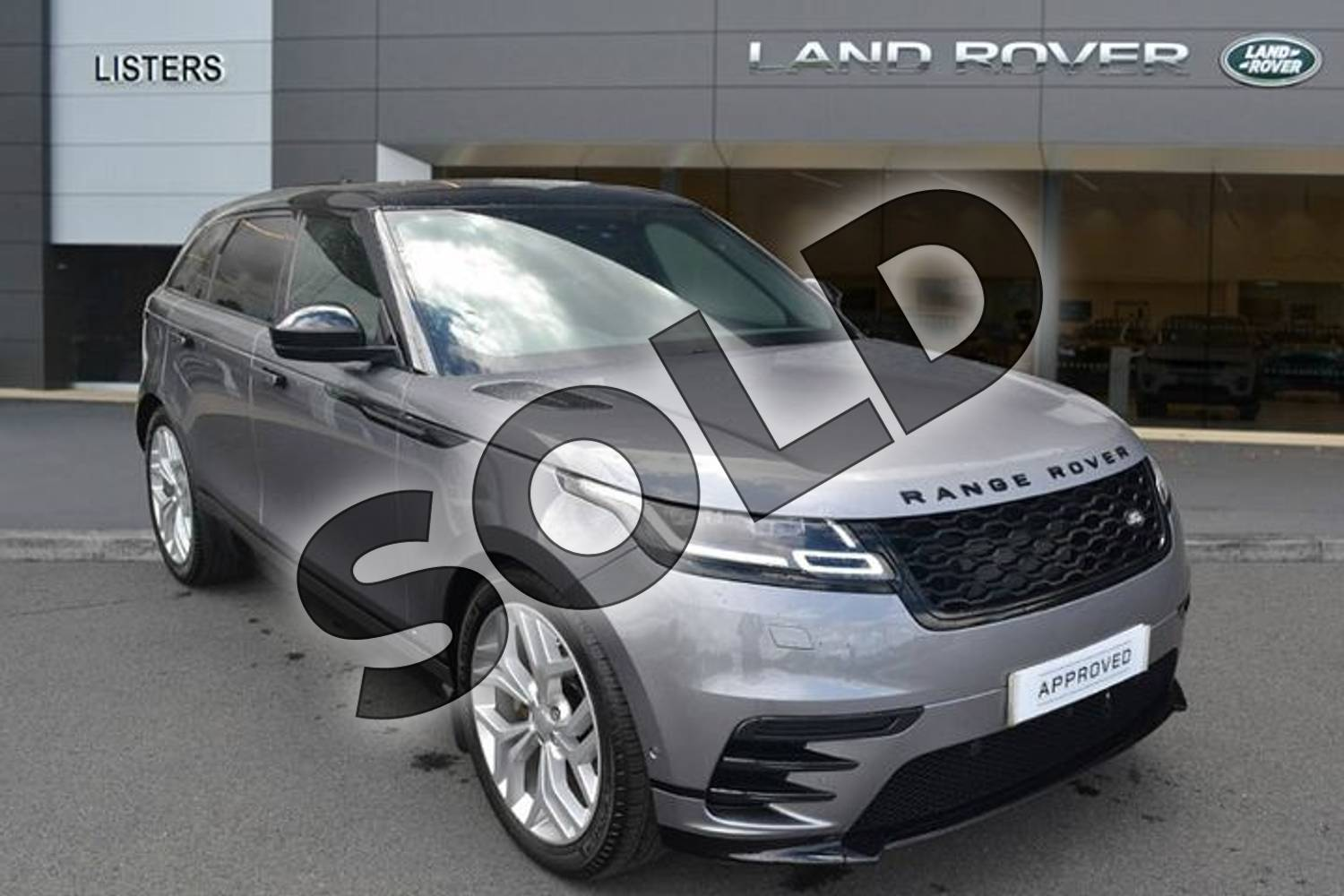 2019 Range Rover Velar Diesel Estate 2.0 D240 R-Dynamic SE 5dr Auto in Eiger Grey at Listers Land Rover Hereford