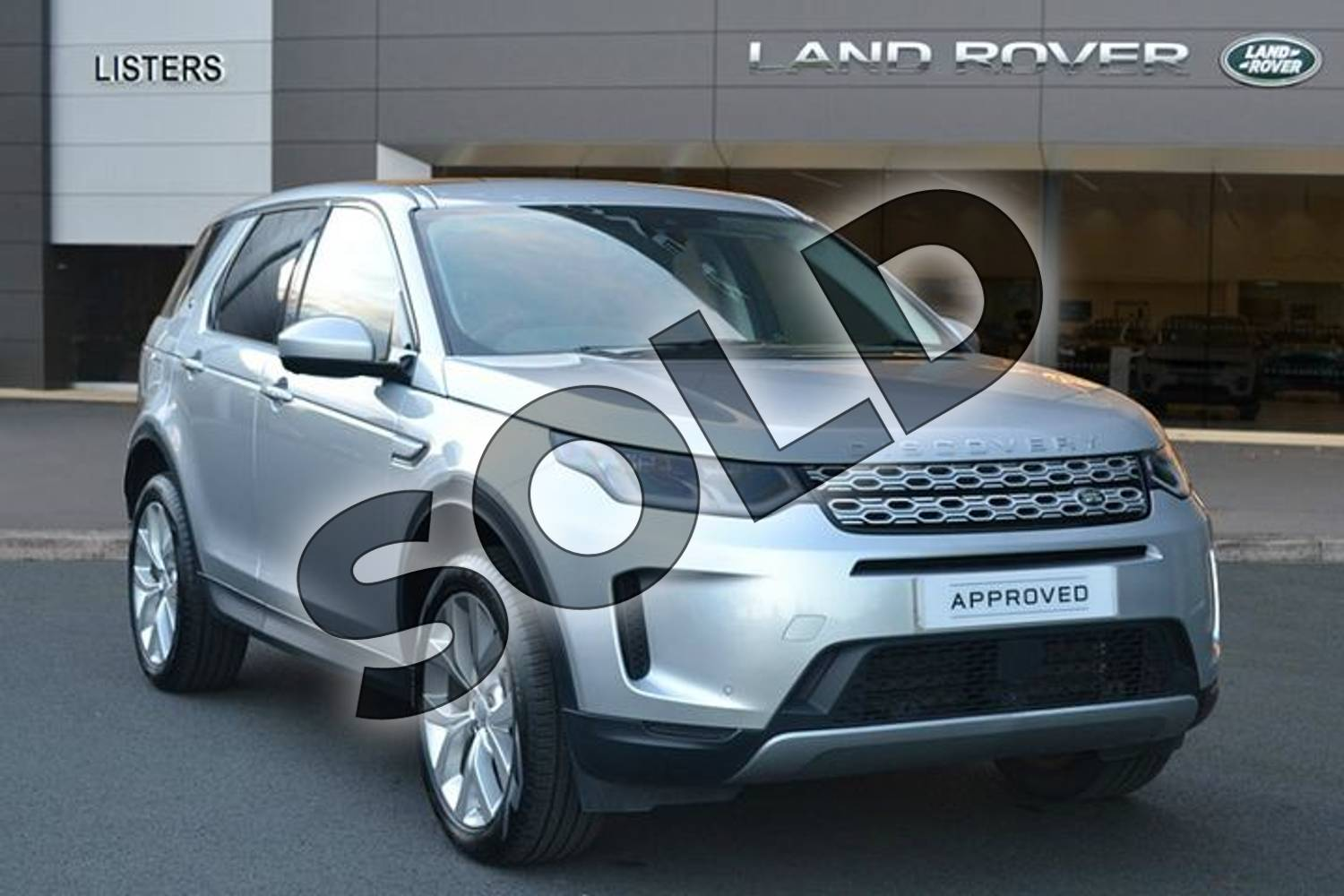 2019 Land Rover Discovery Sport Diesel SW 2.0 D180 HSE 5dr Auto in Indus Silver at Listers Land Rover Hereford