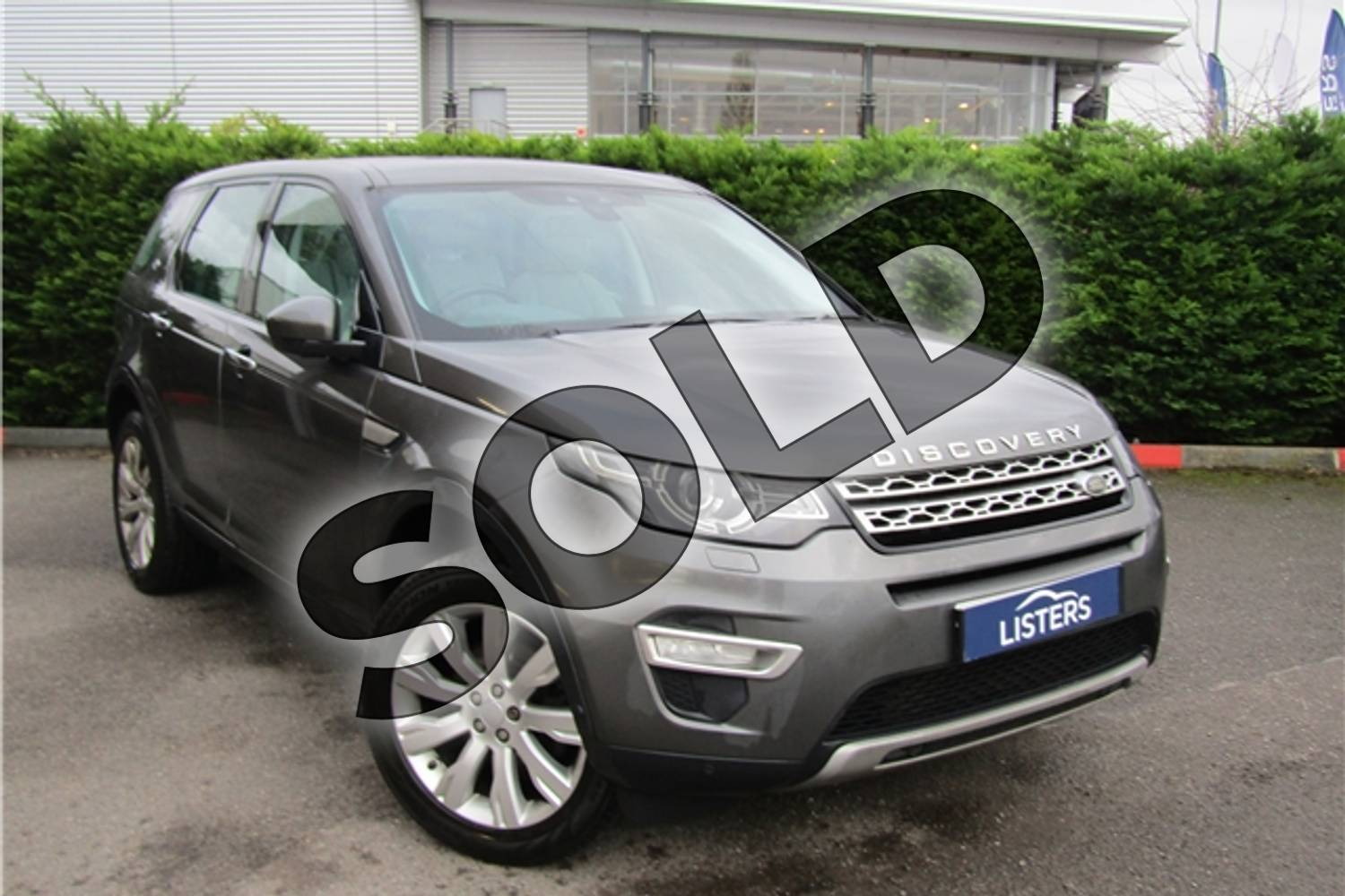 2015 Land Rover Discovery Sport Diesel SW 2.2 SD4 HSE Luxury 5dr Auto in Metallic - Corris grey at Listers U Boston
