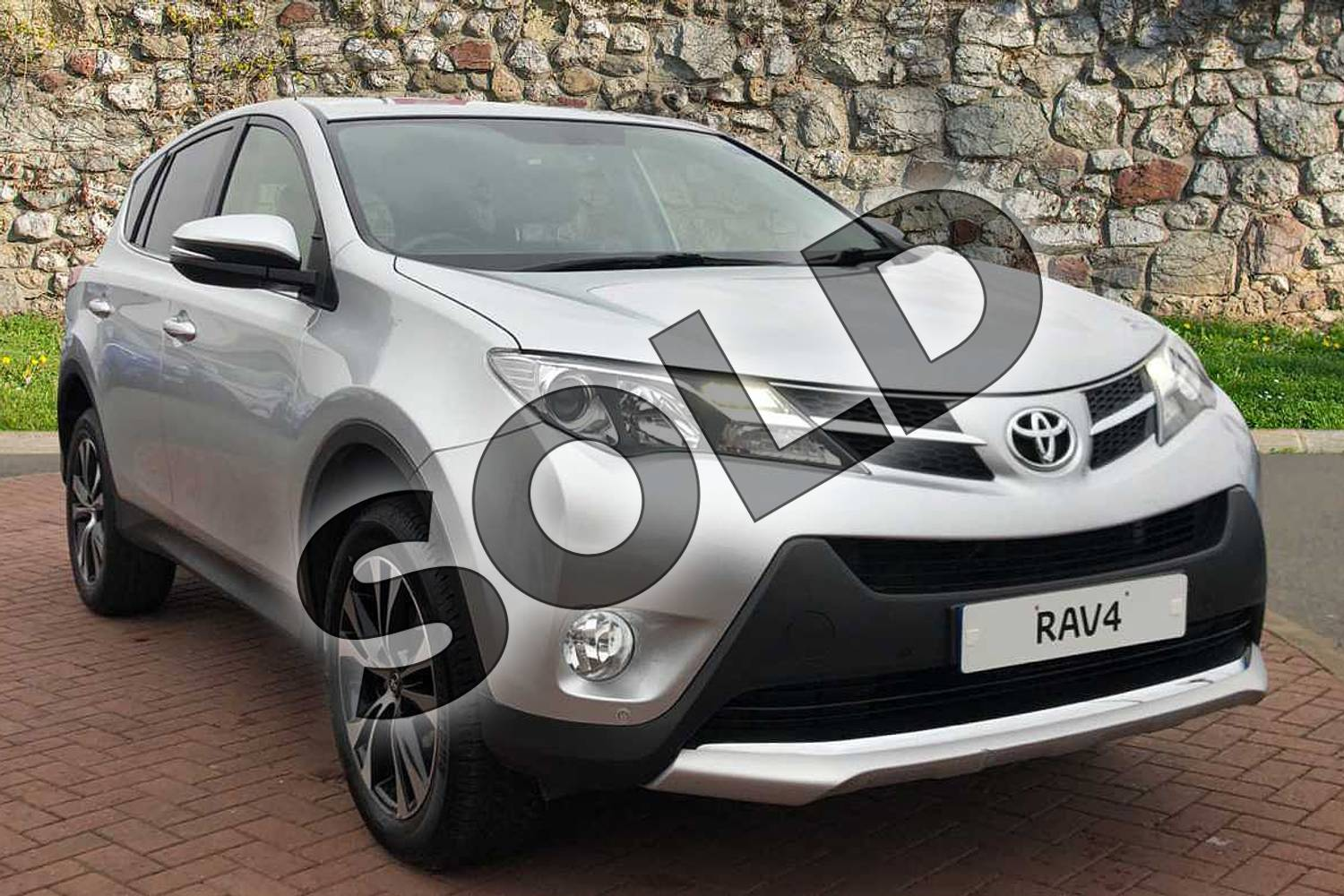 2015 Toyota RAV4 Estate 2.0 V-Matic Invincible 5dr M-Drive S in Silver at Listers Toyota Nuneaton