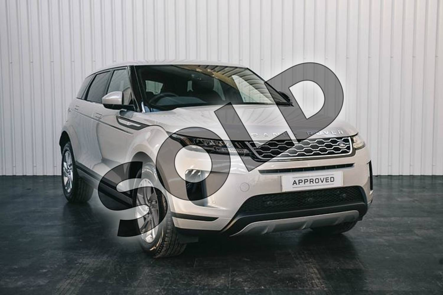 2019 Range Rover Evoque Hatchback 2.0 P200 S 5dr Auto in Seoul Pearl Silver at Listers Land Rover Solihull