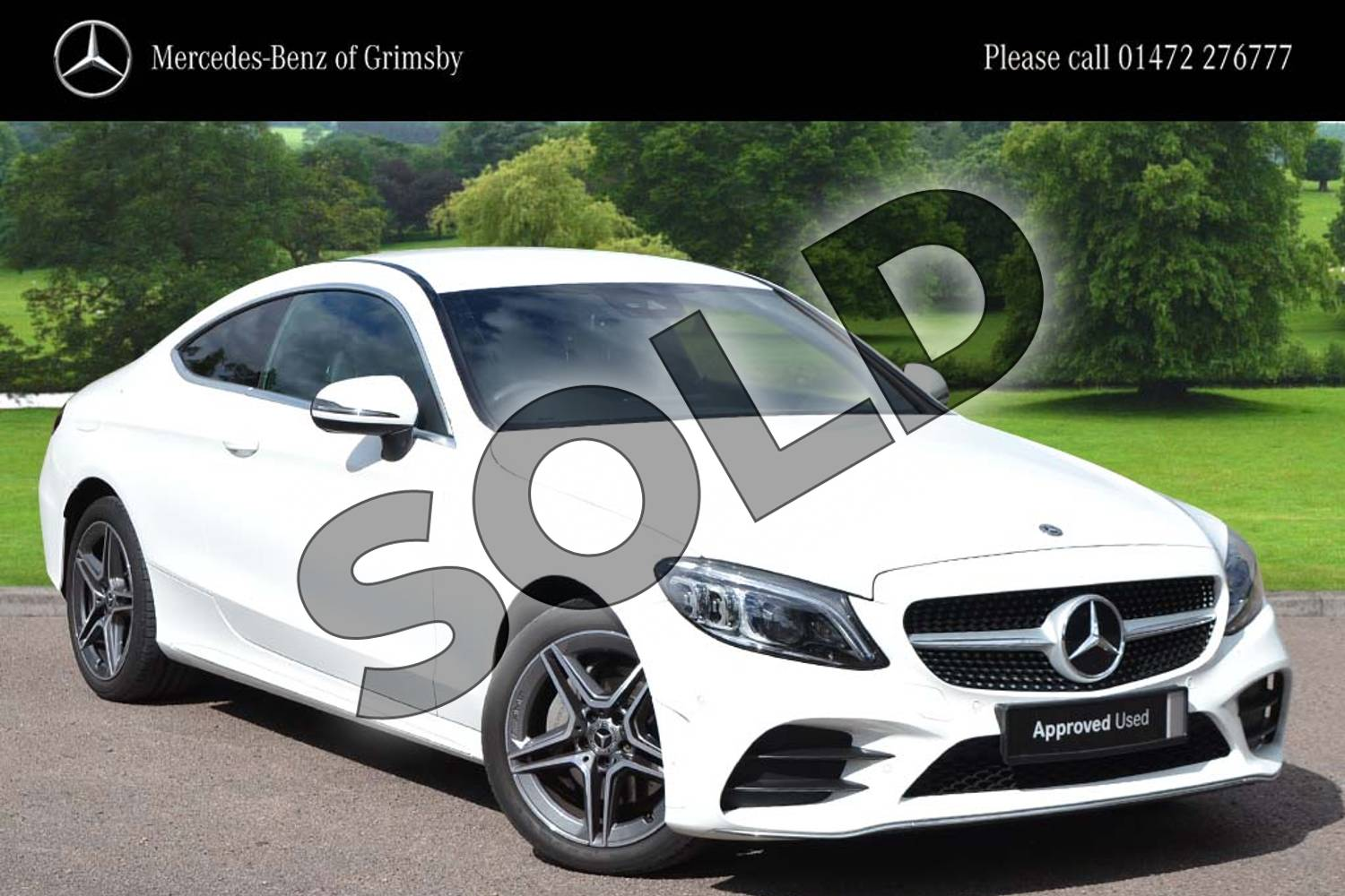 Mercedes-Benz C Class C180 AMG Line Premium 2dr 9G-Tronic for sale at Mercedes-Benz of Grimsby ...