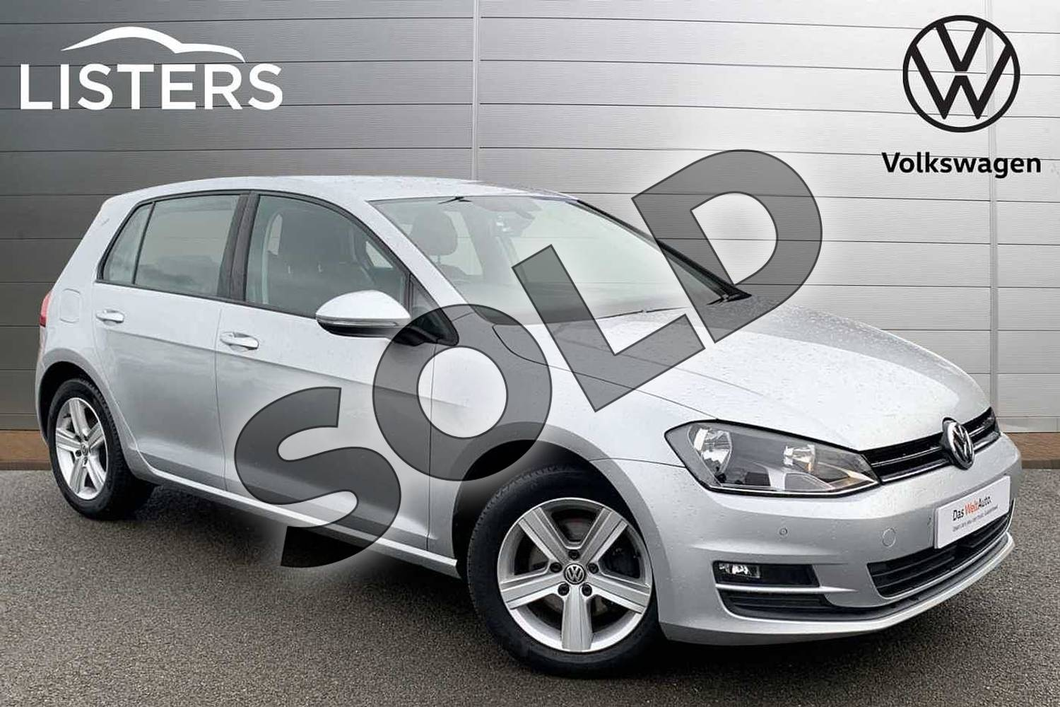 2015 Volkswagen Golf Hatchback 1.4 TSI Match 5dr in Reflex silver at Listers Volkswagen Stratford-upon-Avon