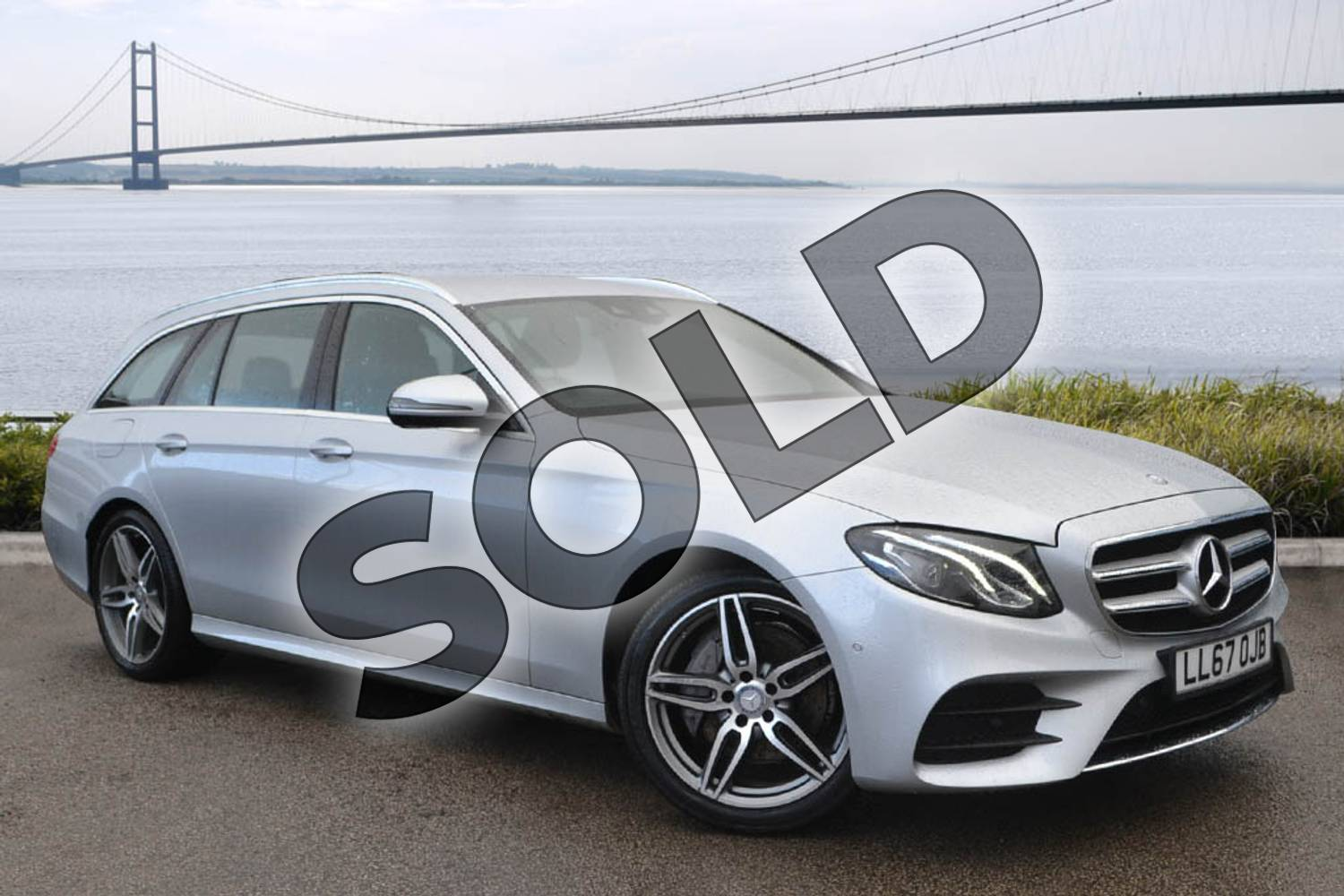 2017 Mercedes-Benz E Class Diesel Estate E220d AMG Line 5dr 9G-Tronic in Iridium Silver Metallic at Mercedes-Benz of Hull