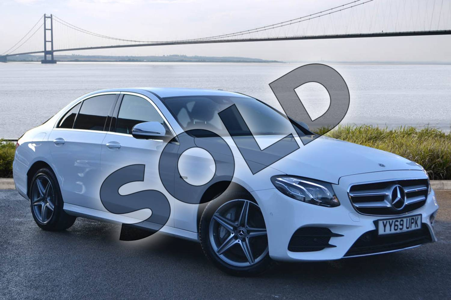 2020 Mercedes-Benz E Class Diesel Saloon E300de AMG Line Premium 4dr 9G-Tronic in Polar White at Mercedes-Benz of Hull