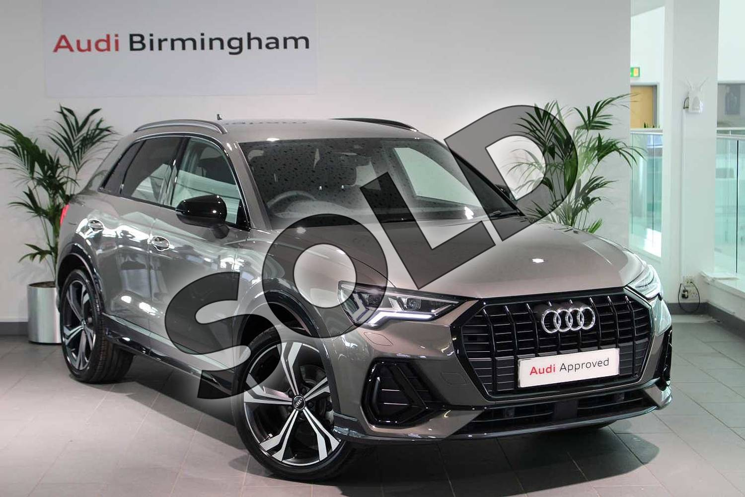 Audi Q3 Sportback Special Editions 35 Tfsi Edition 1 5dr Chronos Grey Metallic With Black Rock Gray Interior