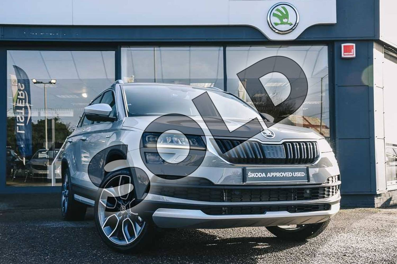 ŠKODA Karoq 2.0 TDI Scout 4x4 5dr for sale at Listers ...