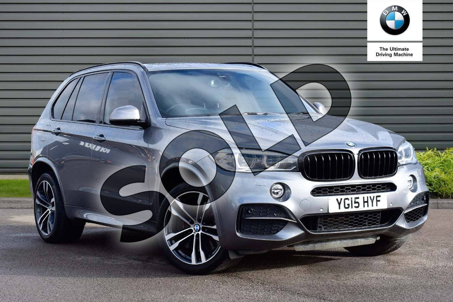 2015 BMW X5 Diesel Estate xDrive M50d 5dr Auto (7 Seat) in Space Grey at Listers Boston (BMW)