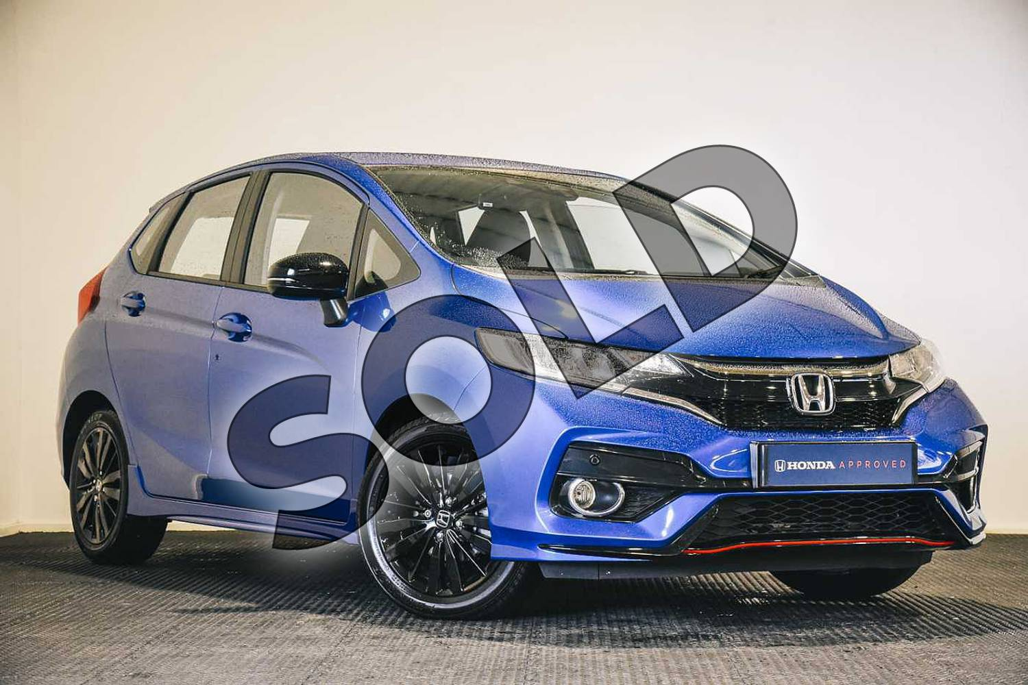 2019 Honda Jazz Hatchback 1.5 i-VTEC Sport Navi 5dr in Brilliant Sporty Blue at Listers Honda Stratford-upon-Avon