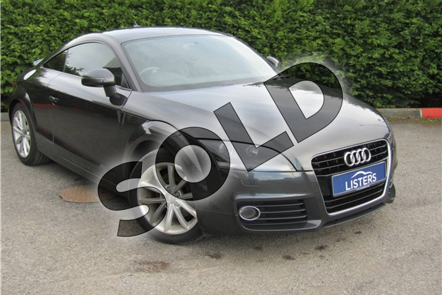2012 Audi TT Coupe 1.8T FSI Sport 2dr in Metallic - Oolong Grey at Listers U Boston