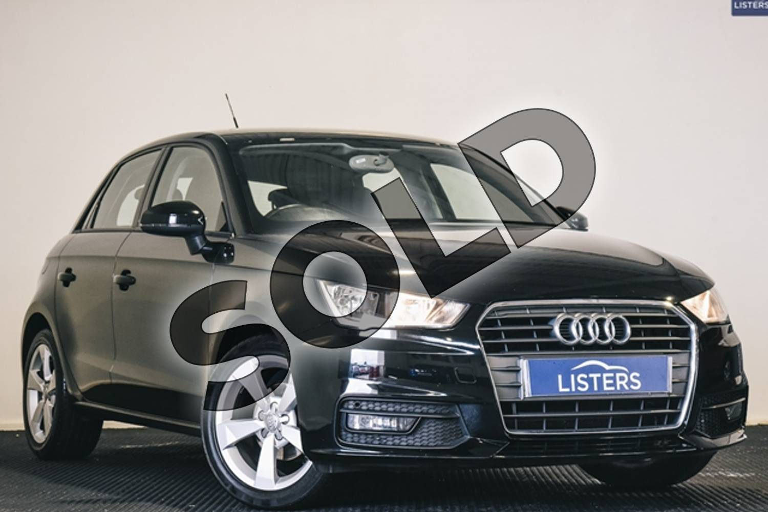 2016 Audi A1 Sportback 1.0 TFSI Sport 5dr in Solid - Brilliant black at Listers U Stratford-upon-Avon