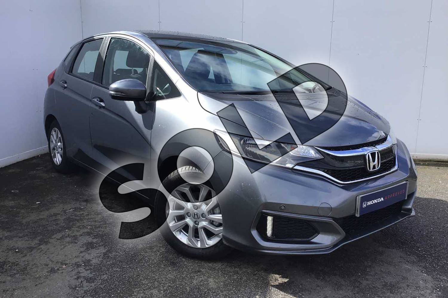 2020 Honda Jazz Hatchback 1.3 i-VTEC SE 5dr in Shining Grey at Listers Honda Solihull