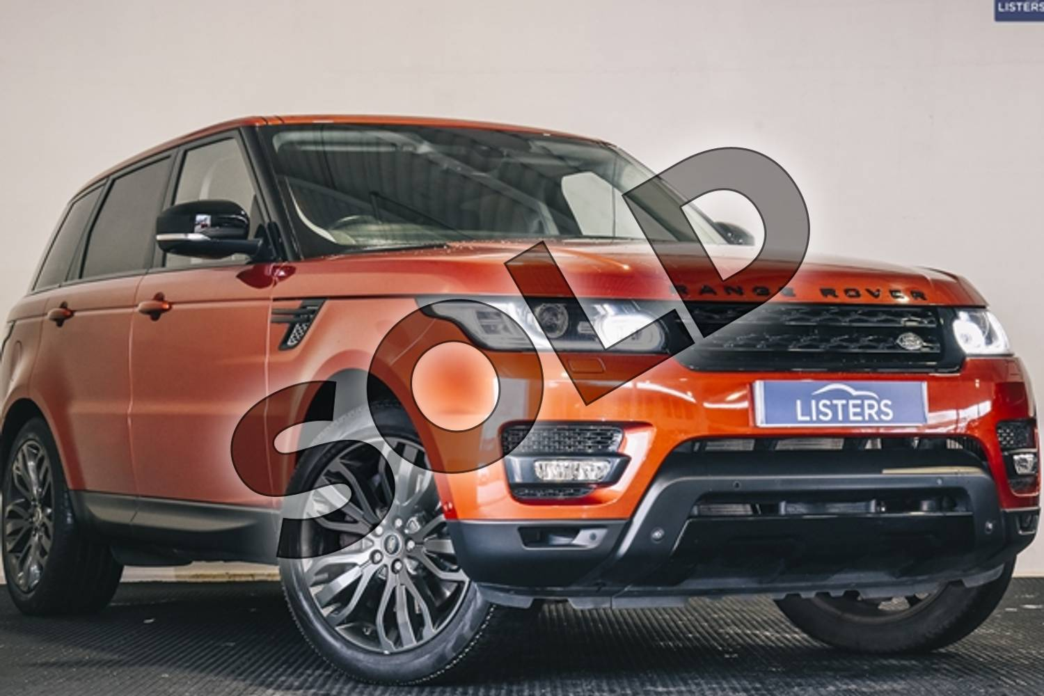 2013 Range Rover Sport Diesel Estate 3.0 SDV6 HSE Dynamic 5dr Auto in Premium metallic - Chile at Listers U Stratford-upon-Avon