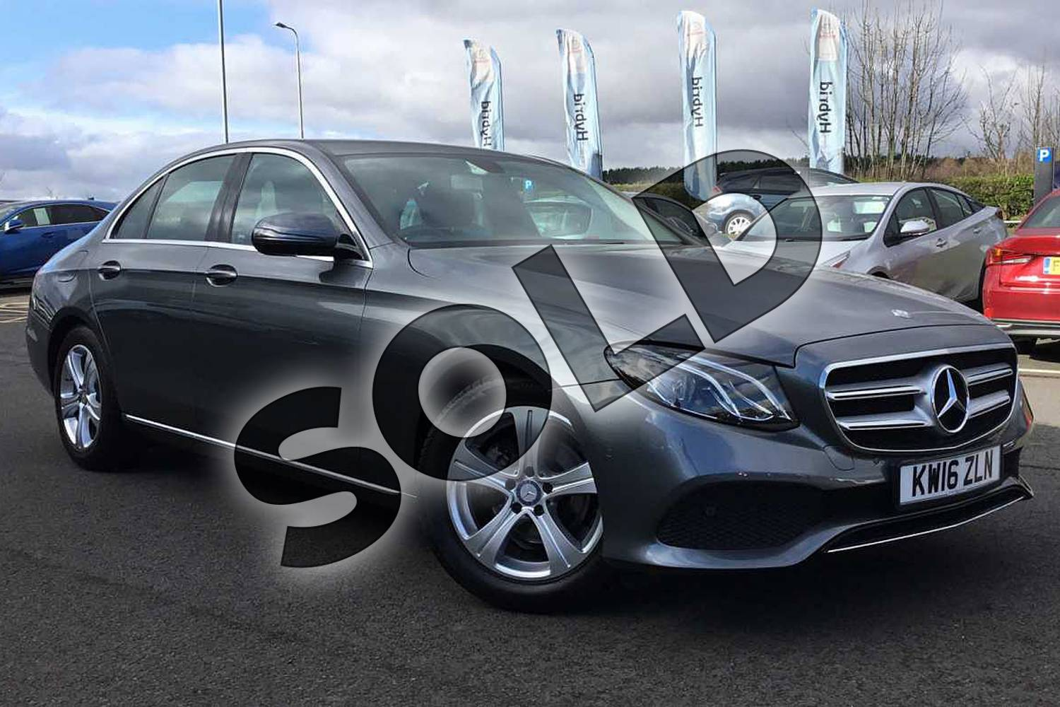 2016 Mercedes-Benz E Class Diesel Saloon E220d SE 4dr 9G-Tronic in Grey at Lexus Lincoln
