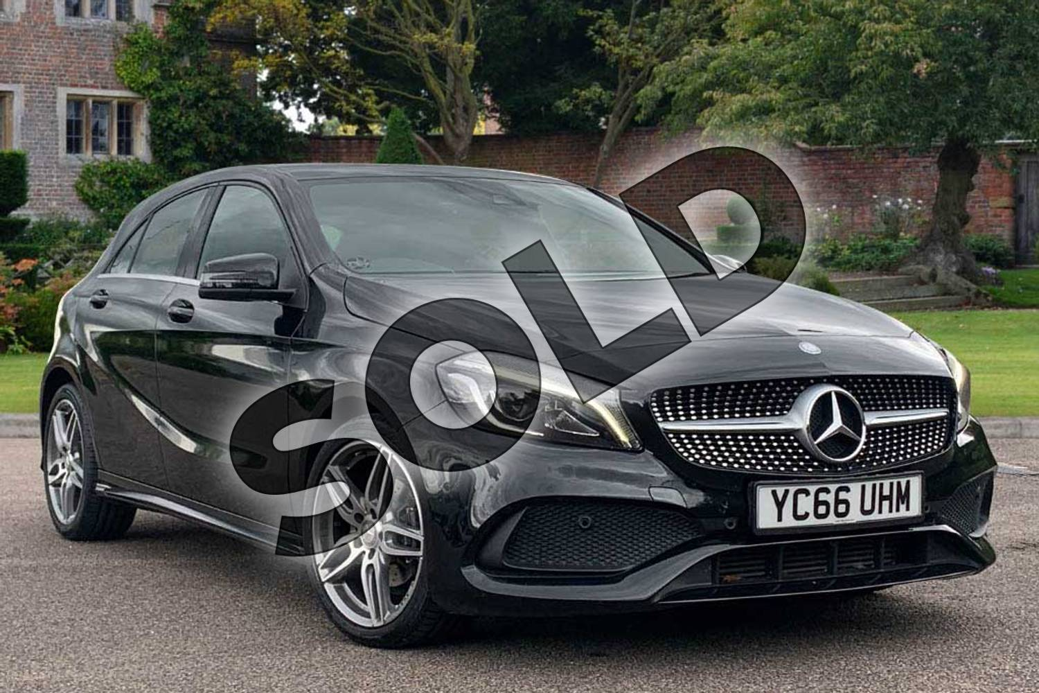 2016 Mercedes-Benz A Class Diesel Hatchback A180d AMG Line Premium 5dr Auto in Cosmos Black at Mercedes-Benz of Lincoln